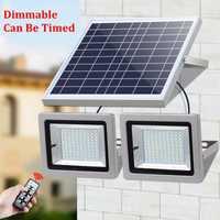 Reflector LED Solar de luz 5730 SMD Solar de luz de inundación LED Sensor de jardín al aire libre muro de seguridad lámpara 7 W 12 W 15 W 18 W IP65