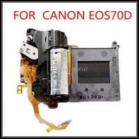 100% original SLR cámara digital de reparación y piezas de repuesto EOS 70D obturador de grupo para Canon