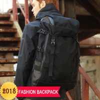 Nuevos hombres mochila 2018 marca moda multifunción de gran capacidad masculina de viaje mochilas para adolescentes bolsa de la escuela portátil mochila
