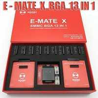 2019 nuevo MOORC E-MATE X E MATE PRO caja EMMC BGA 13 en 1 100, 136, 168, 153, 169 162, 186, 221, 529, 254 envío gratis