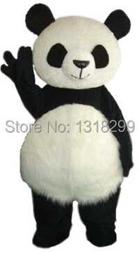 Mascota grasa kawaii Panda traje de la mascota del vestido de lujo traje de cosplay mascotte traje de Carnaval kits