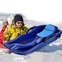 Adultos niños trineo de nieve al aire libre de nieve de junta trineo espesar arena en la junta de esquí de Snowboard de trineos