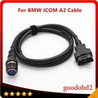 Para BMW ICOM A2 ICOM A2 + B + C de diagnóstico interfaz Cable principal 16pin a 19pin Cable de conector de coche a2 prueba conectar Cable de coche