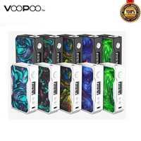 Original VOOPOO arrastrar X007 157 W caja Mod 18650 TC Mods con nosotros GENE Chip E cigarrillo Mod 510 hilo vaporizador Vape Mods del Vgod