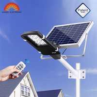 Luz Solar de jardín de 15 W xinee 12 Led Luz de calle de energía Solar con lámpara de seguridad remota de jardín a prueba de agua IP65