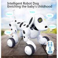 Control remoto inalámbrico Smart perro Robot niños juguetes inteligente hablando perro Robot electrónicos mascotas virtuales de los niños de juguete de regalo