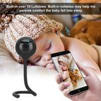 Bebé Monitor de Video cámara intercomunicador de dos vías de vigilancia reproductor de música de visión nocturna WiFi Teléfono de alta tecnología Juguetes