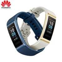 2019 nouveau Huawei Band 3 Pro bande intelligente GPS métal cadre Amoled couleur écran tactile nager capteur de fréquence cardiaque suivi du sommeil