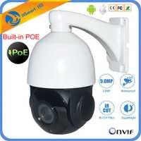 30X cámara PTZ IP 30x ZOOM 5MP Pan Tilt seguridad al aire libre Red incorporado POE P2P IR noche 80 m Onvif CCTV domo de alta velocidad cámara IP