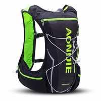 Aonijie 10l Trail Correr bolsa hombres mujeres mochila hidratación jogging senderismo chaleco deporte cintura Pack impermeable