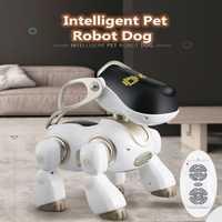 Educativo aprendizaje juguete de control remoto rc robot pet juguete perro de juguete de simulación AI puede cantar hablando bailar jugar con el niño