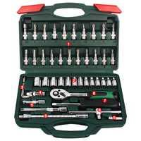 Juego unids de herramientas de reparación de automóviles de Motor de bicicleta juego de 46 piezas de herramientas de combinación de destornilladores de torsión