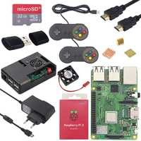 Original Raspberry Pi 3 Modelo B Plus 1,4 GHz quad-core de 64 bits procesador 2,4g y 5g wiFi Bluetooth 4,2 Raspberry Pi 3 Modelo B, modelo B + kit