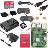 Original Raspberry Pi 3 Modelo B Plus 1,4 GHz quad-core de 64 bits procesador 2,4g y 5g wiFi Bluetooth 4,2 Raspberry Pi 3 Modelo B, modelo B + kit