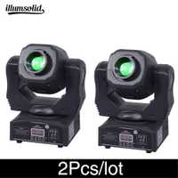 2 Pcs/lot haute luminosité tête mobile spot 60 w ktv dj gobo lumière Spot club veilleuse