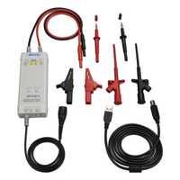 Kit de sonda diferencial de alta tensión de 1300 V 100 MHz de osciloscopio de micrófono NS tiempo de subida 50X/500X tasa de atenuación DP10013