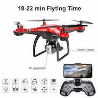 X8 RC Drone Cámara Drone con HD 3MP 720 p Cámara altitud mantenga una llave de retorno/aterrizaje/tomar off modo sin cabeza 2,4g RC Quadcopter