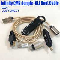 2019 original nouveau infinity cm2 dongle infinity box dongle + umf tout en un câble de démarrage pour téléphones CDMA GSM