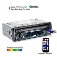 DYDNAUDIO D-3010 In Dash Bluetooth Auto radio ISO connector Car stereo player con manos libres llamada de teléfono USB TF frontal AUX-in