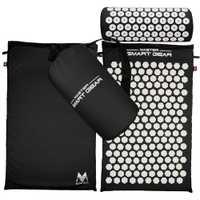 Masaje de acupresión alfombra almohada Yoga Mat para alivia el estrés cuello espalda ciático dolor relajación de la tensión de liberación