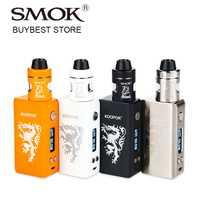 80 W humo KOOPOR Caballero TC Kit de iniciación con Koopor Mini 2 Mod & casco atomizador 2 ml 18650 caja de batería Mod Vs arrastrar 2/Luxe de