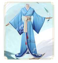 Onmyoji SSR Shiranui Diver Ali Kimono Cosplay disfraz uniforme vestido disfraces de Halloween para mujeres adultos tamaño envío gratis
