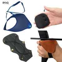 Arco y flecha Caza Tiro proteja set con brazo Finger TAB protector de pecho guante para la práctica del entrenamiento