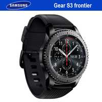 Samsung Gear S3 frontera inteligente GPS Bluetooth Fitness de al aire libre de vestir reloj inteligente impermeable para iPhone Android