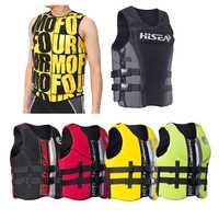 Chaleco salvavidas de neopreno Premium para hombres y mujeres jóvenes adultos tamaño máximo XXXL más de 95 kg chaleco salvavidas