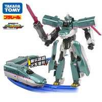 Takara Tomy Plarail Shinkansen Shinkarion E5 Hayabusa deformación Robot Shinkarion DXS01 tren de juguete nuevo