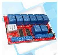 ¡Envío gratis! 1 unids unidad controlador de módulo de conmutador de red Ethernet de 8 canales para mover el módulo de botón local de retardo TCPUDP se