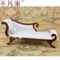 Dollhouse escala 1/12 muebles en miniatura bien hecho estilo clásico silla real