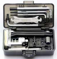 Topeak bicicleta equipo de supervivencia caja 23 herramientas bicicleta TT2543