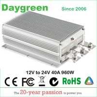 12 V a 24 V 40A STEP UP DC convertidor 40 AMP 1000 Watt 12VDC a 24VDC 40AMP Daygreen CE RoHS