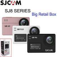 PromotionSJCAM SJ8 serie SJ8 aire/SJ8 Plus/SJ8 Pro 1290 P 4 K Cámara de Acción WIFI Control remoto impermeable deportes DV del SJ7 estrella
