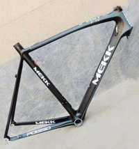 Original Italia MK carbono 55 cm bicicleta de carretera marco con auriculares