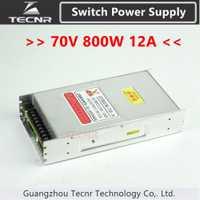 GUANYANG cnc router 70 V 800 W 12A transformador del interruptor de alimentación para la máquina de grabado del cnc GY800W-70-A