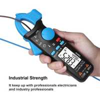 Digital de bolsillo del metro de la abrazadera del multímetro de BSIDE DC/corriente AC 100A precisa 1mA de profesional de reparación de automóviles Ampermetr amperímetro