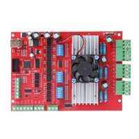 1 Set MACH3 CNC USB 100 Khz Placa de adaptación 3 ejes interfaz de controlador de movimiento