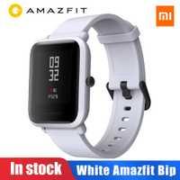 Amazfit Bip Golbal Version Xiaomi Amazfit Bip montre intelligente Huami Miband Pace Lite Gloness Smartwatch fréquence cardiaque pour téléphone MI8 IOS
