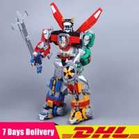 2018 Compatible con DHL Legoinglys 21311 Voltron Defender of The Universe Transformation Model Building Block Bricks cumpleaños Juguetes