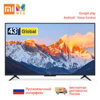 Télévision Xiao mi mi TV 4A Pro 43 pouces FHD Led TV 1GB + 8GB Smart android TV version mondiale | multi langue | support mural cadeau