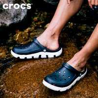 CROCS été nouvelles chaussures de sport doux hommes sandales antidérapantes plage chaussures antidérapantes sandales respirantes en plein air