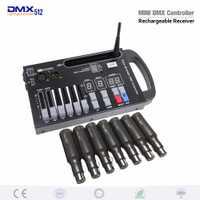 Nuevo DMX receptor inalámbrico Controlador LED de luz láser controlador muy conveniente para fase móvil
