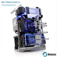 Carcasa tipo placa modular Barrowch Mobula para Intel CPU bloque de agua y edificio GPU simple