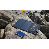15 W cargador del panel solar SunPower plegable Cargador Solar dual del USB Baterías portátiles portableoutdoor camping cargador para teléfono celular