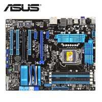 ASUS P8P67 1155 Original ASUS P8 P67 32nm placa base enchufe LGA 1155 ATX DDR3 USB3.0 32 GB ordenador de escritorio placa base