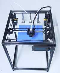 Ifancybox3 doble gran tamaño corexy 3D impresora kit ifancybox máquina impresora 3D rampas negro corexy Kit completo 3d impresora doble extrusora
