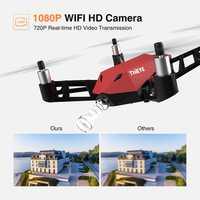 ThiEYE el dr. X WiFi PFV drone con HD 1080P cámara de vídeo en directo RC Quadcopter con Control de APP facilita selfie drones mini flycam