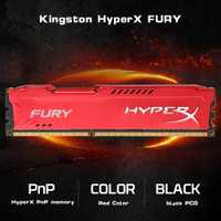 Original de Kingston HyperX FURY 4 GB 8 GB 1866 MHz DDR3 CL10 DIMM 1,5 V Gamiing memoria RAM rojo de PC Gamer DIV